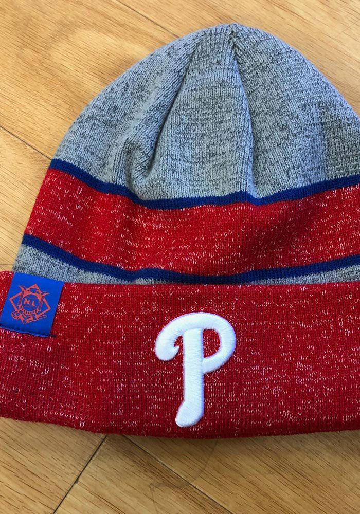 c84e19caa New Era Philadelphia Phillies Grey 2017 Sport Mens Knit Hat ...