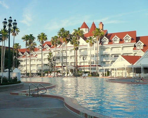 Mike and Itook the kids to this Disneyworld Resort Hotel in Florida with Austin, Alex Andrew and Michael