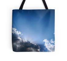 Blue & Clouds Tote Bag