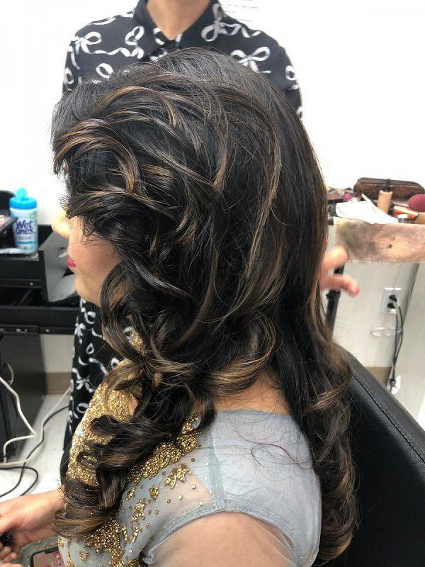 Inn Style Salon Hair Salon And Spa Edmonton Inn Style Salon Dress Makeup Bridal Makeup Hair Salon