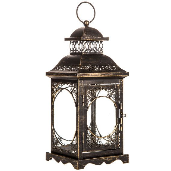 Get Antique Bronze Metal Lantern online or find other Candle Holders products from HobbyLobby.com