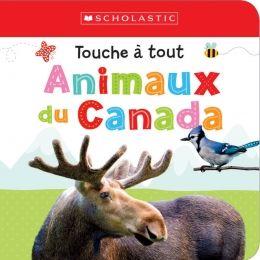 Les petites mains des enfants adoreront cajoler le doux tamia rayé et les autres animaux du Canada en touchant les zones texturées à l'intérieur de ce livre.
