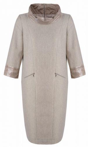 Prosta sukienka z oryginalnymi wykończeniami - Jesień-zima 2014/15 do -70% - Sklep Caterina Online, https://sklep.caterina.pl