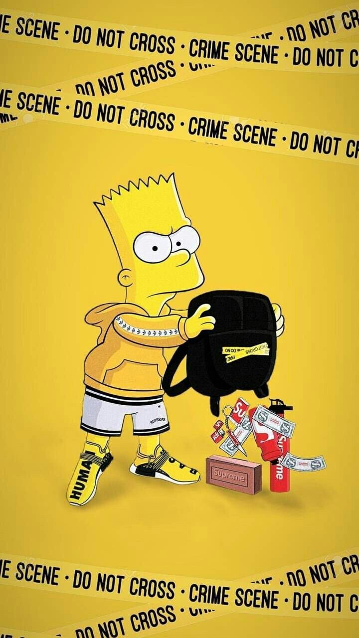 Pin By Dina Razak On Aesthetic Simpson Wallpaper Iphone Cartoon