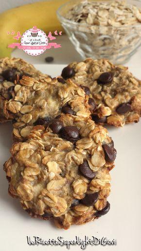 Cookies super light con avena e gocce di cioccolato (40 calorie a biscotto) | Le Ricette Super Light Di Giovi