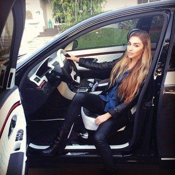 Chantel Jeffries: Justin Bieber's girlfriend spotted in his Lamborghini