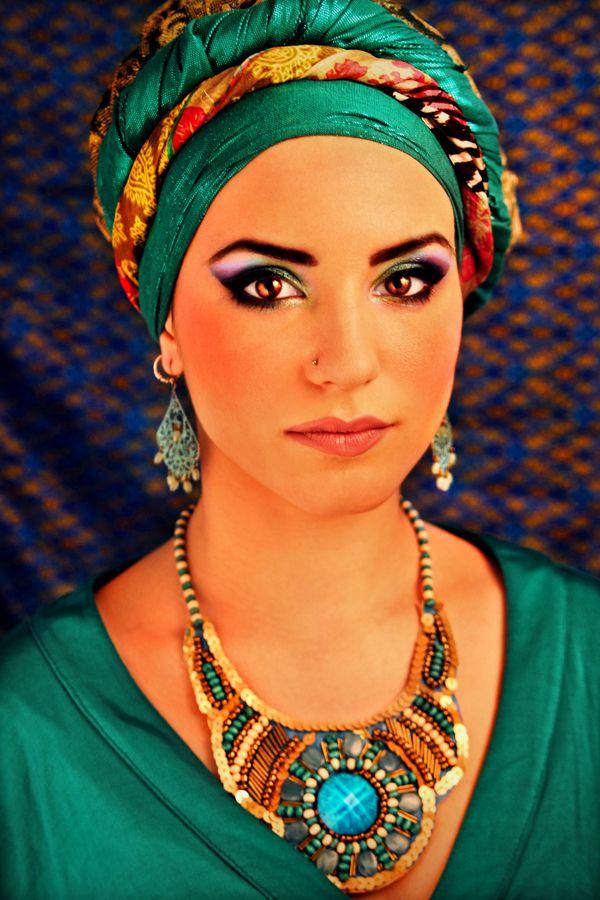 Arabian nights by Nadja Berberovic, via Behance