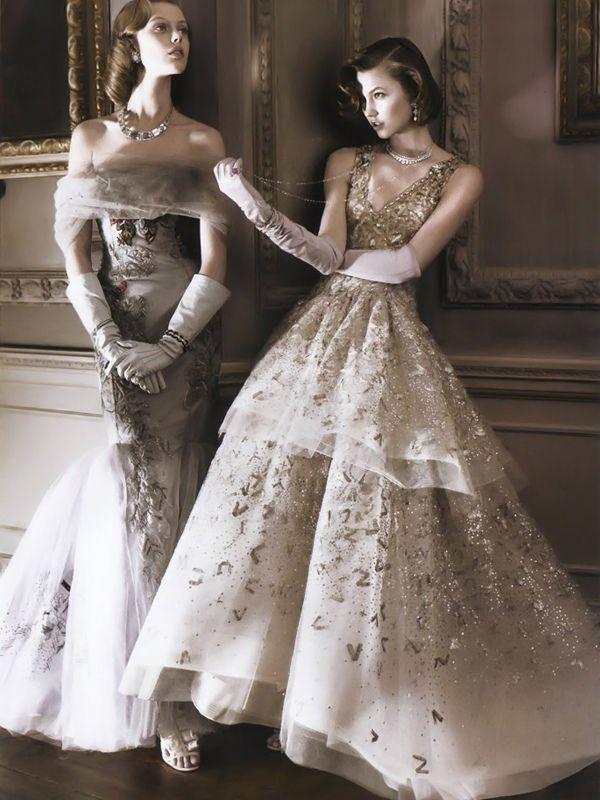 Frida Gustavsson and Karlie Kloss: Fashion, Karlie Kloss, Style, David Sims, Vintage, Wedding, Dresses, Frida Gustavsson