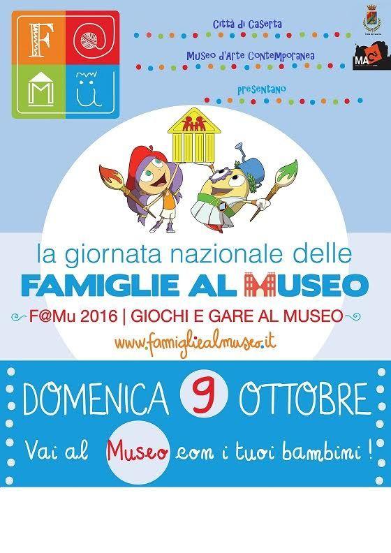 La Giornata Nazionale delle Famiglie al Museo domenica 9 ottobre a cura di Redazione - http://www.vivicasagiove.it/notizie/la-giornata-nazionale-delle-famiglie-al-museo-domenica-9-ottobre/