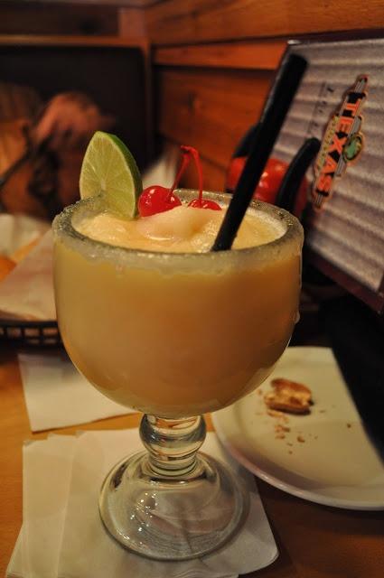 texas roadhouse peach margarita