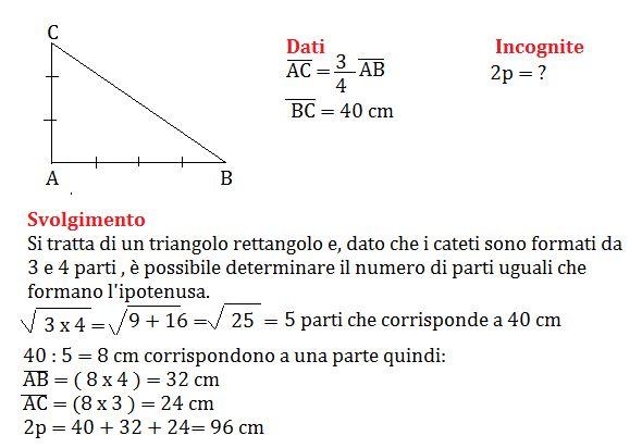 Problemi sul teorema di Pitagora, programma seconda media ...
