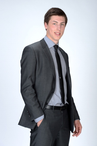 Ryan Nugent-Hopkins at the NHL Awards yup he is hott too!
