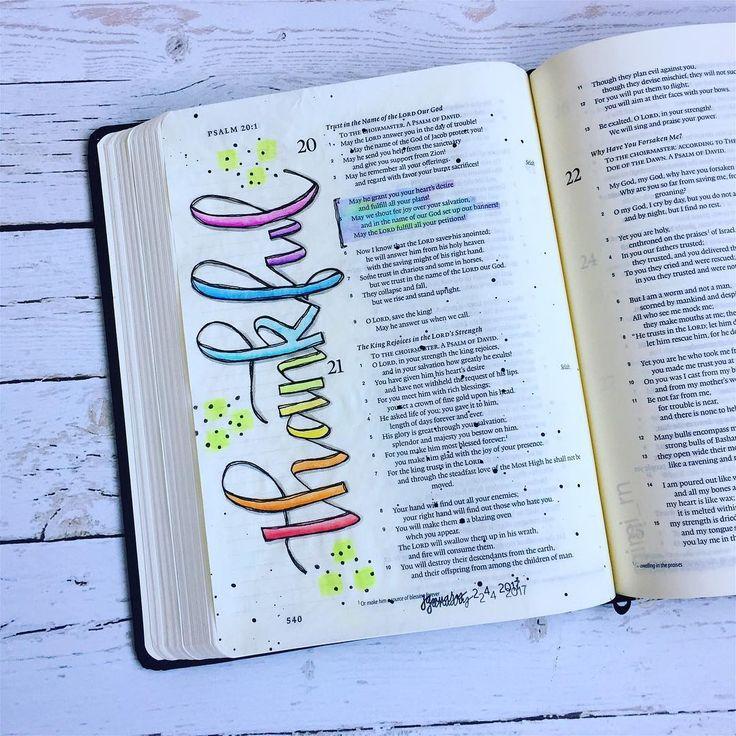 Bible Journaling by @_mimi_creates
