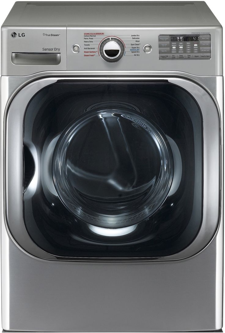 90 cu ft graphite with steam cycle gas dryer