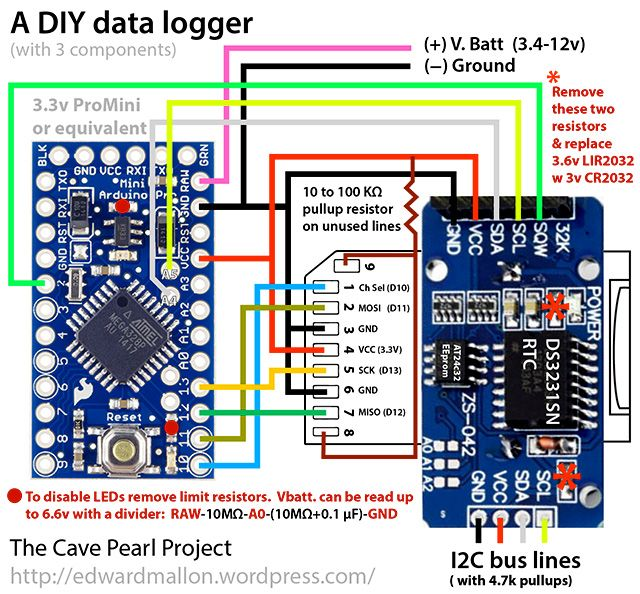 diy arduino data logger $10