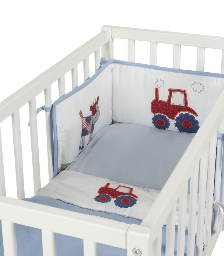 baby weavers 3 crib bedding set busy tractor kiddicare this for a boy baby