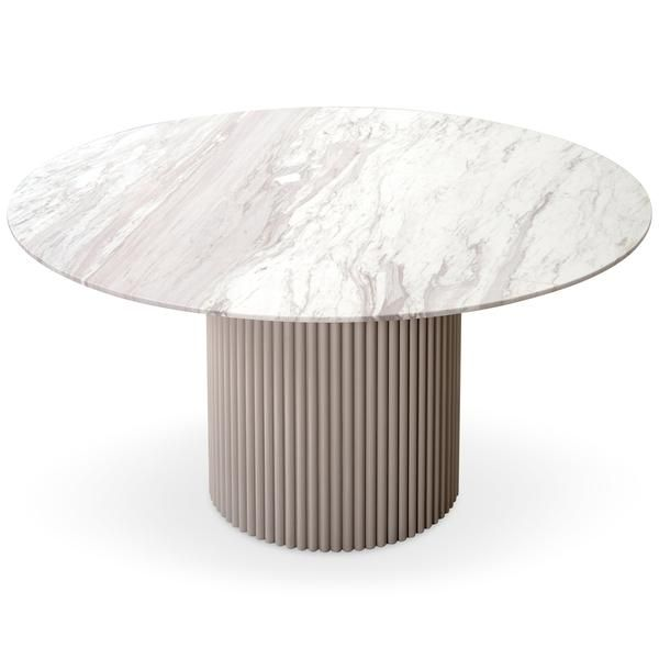 Ubud Round Dining Table Dining Table Marble Round Marble Dining