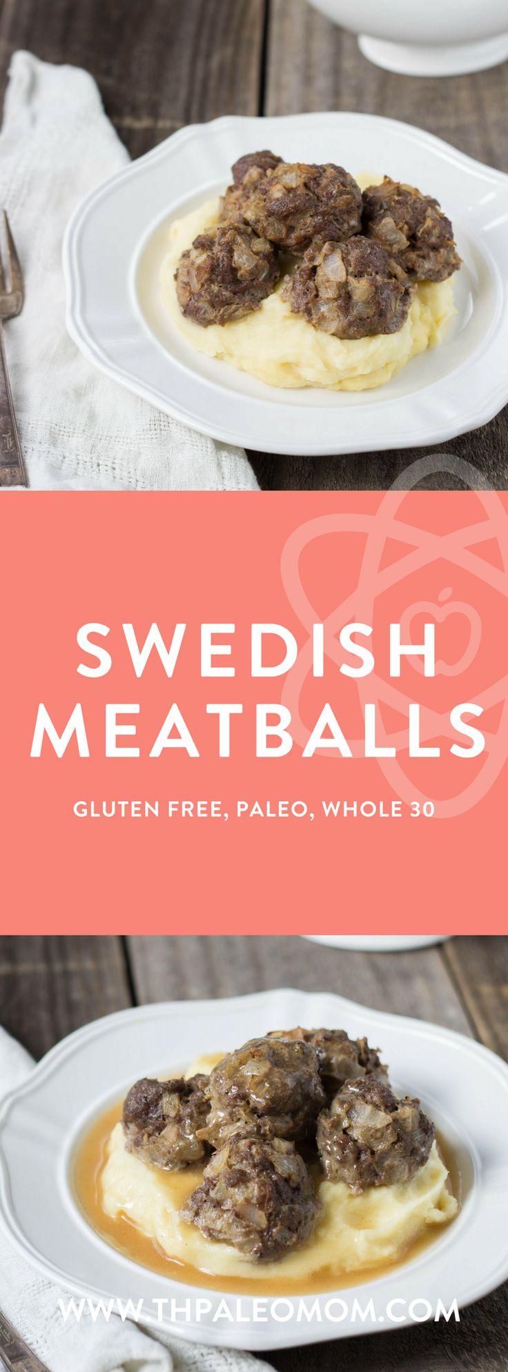 Swedish Meatballs | The Paleo Mom (Whole 30 friendly)
