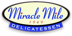 Miracle Mile Delicatessen Phoenix - Incredible variety for a deli, from breads to meats and fixins. Pastrami, something they're great at!
