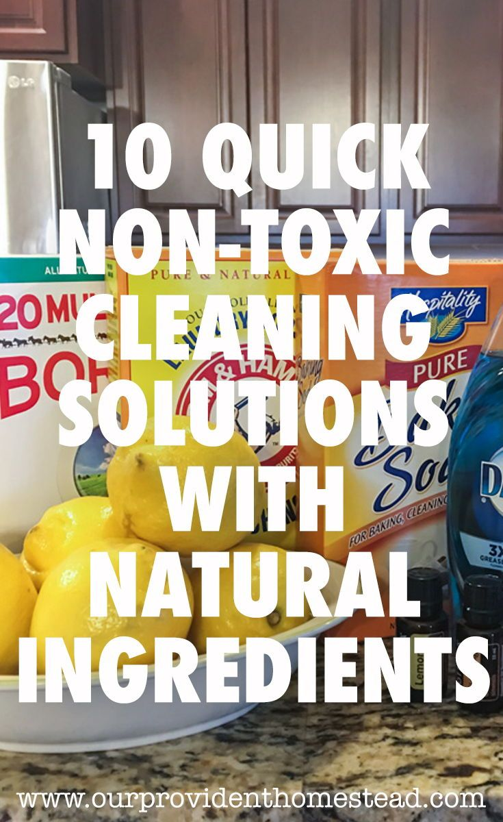 Do you love natural cleaning recipes? We have 10 recipes for natural cleaners plus tips, tricks and a shopping list to make them at home. Natural Cleaners | Cleaning Hacks | Non-Toxic Cleaning via @ourprovidenthom