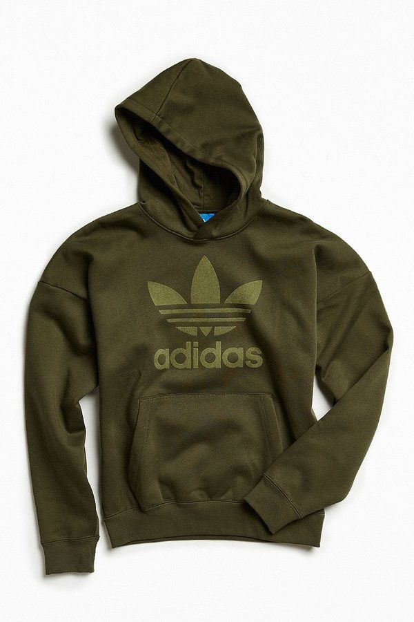 military green adidas hoodie