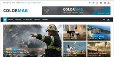 Tema ColorMag WordPress untuk Blog News