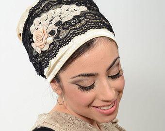 Elegante raso testa sciarpa / Tichel / sciarpa di shavisM su Etsy