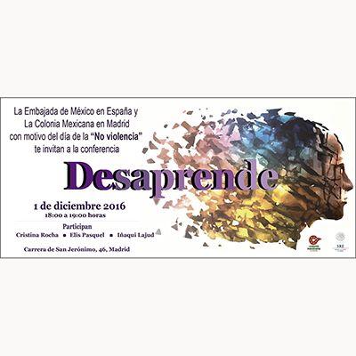 "1 Diciembre , día de la ""NO VIOLENCIA"" , Embajada de Mexico - http://revistanuve.com/14009-2/"