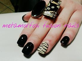 Black Chic Nails