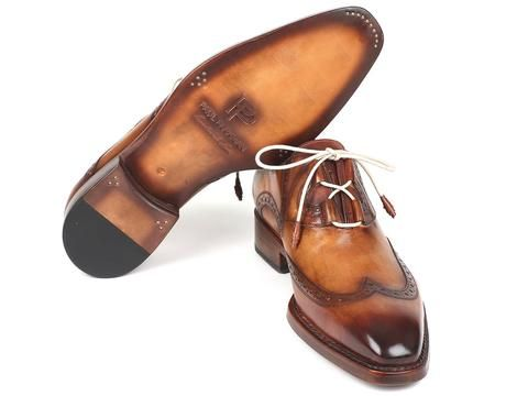 Paul Parkman Goodyear Welted Ghillie Lacing Wingtip Brogues – Styles By Kutty