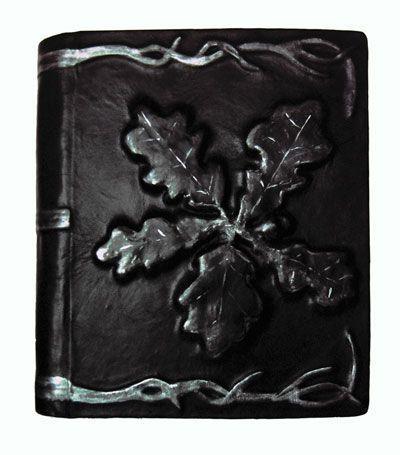 "Купить Книга теней ""Ветка дуба"" - книга теней, гримуар, блокнот для записей, книга для записей"
