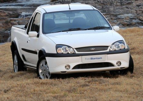 The uniquely South African Ford Bantam Limited Edition Montana 2008. Ford celebrated a quarter-century of Bantam bakkie success with a limited edition Montana package. Only 200 were produced.