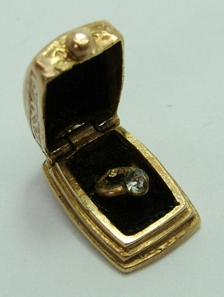 401 best Lovely Ring Boxes images on Pinterest