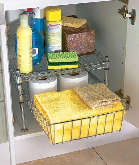 Best 25 Under Cabinet Storage Ideas On Pinterest Bathroom Sink Organization Storage Organization And Bathroom Under Sink Cabinet