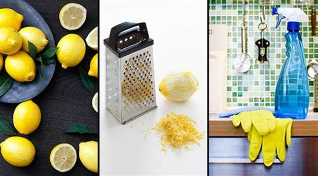 Citron går att använda till allt från att ta bort dåliga lukter till att få bort fläckar