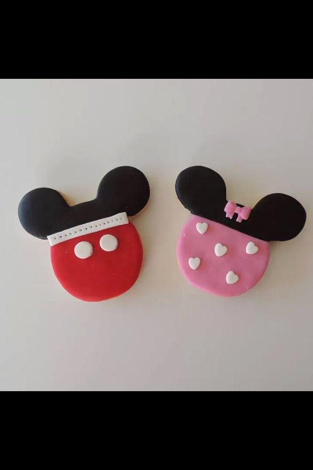 Mickey Mouse Kurabiyelerimiz