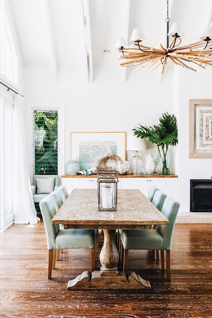 Really Liked The Chairs And Console For Dining Room Like The Idea