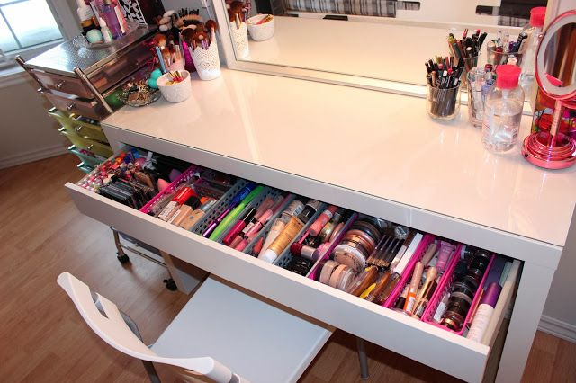 Makeup Storage Ideas - Luhivy's favorite things