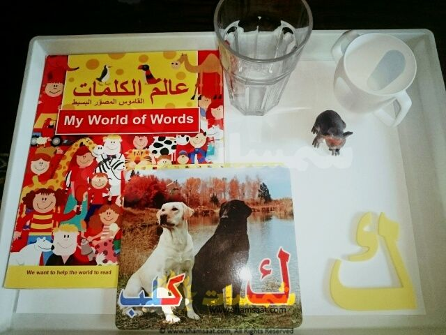 مجسمات حرف الكاف تعليم الحروف عن طريق المجسمات كلمات تبدا بحرف الكاف My World Words Playbill