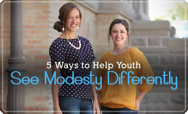 An excellent article to help youth change their perspective on Modesty! Definitely should be incorporated in lessons or activities!