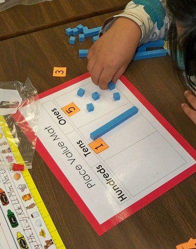 Place Value activities that help children understand the mathematics of higher…