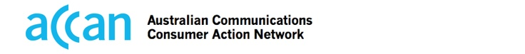 Australian Communications Consumer Action Network - Tip Sheets - Social Media for People with Disabilities.