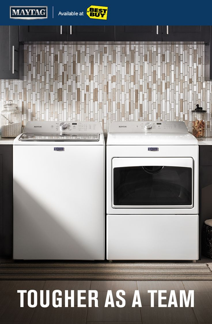 Pair your powerful washer with a dryer that's just as powerful.