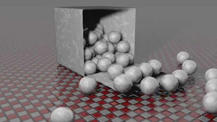 Box & spheres