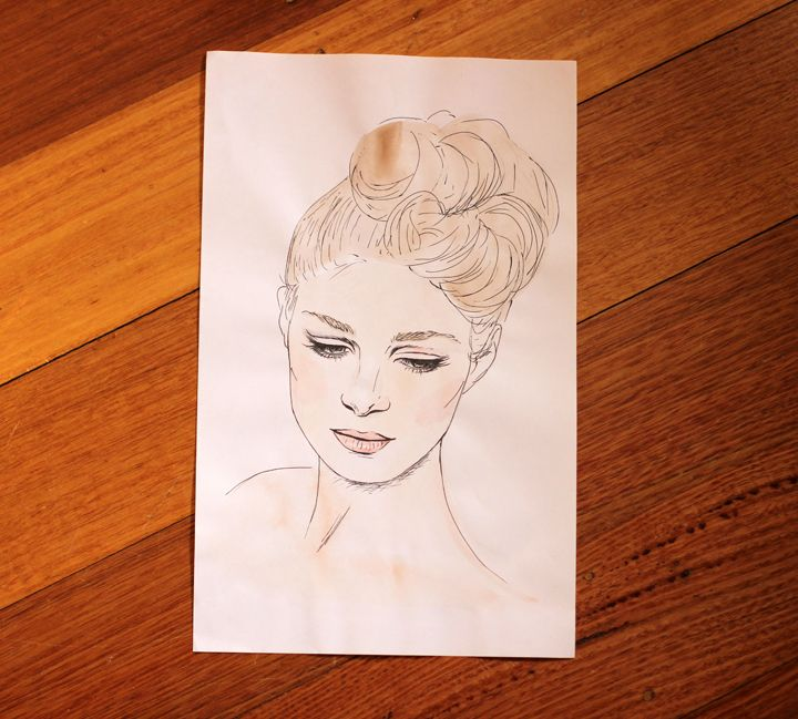 Ballerina by Steph Tesoriero. Avail for purchase