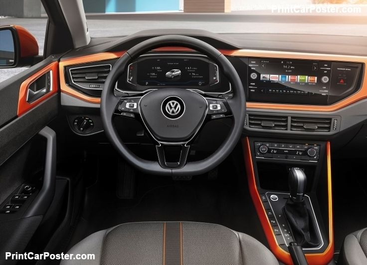 Volkswagen Polo 2018 poster, #poster, #mousepad, #tshirt, #printcarposter