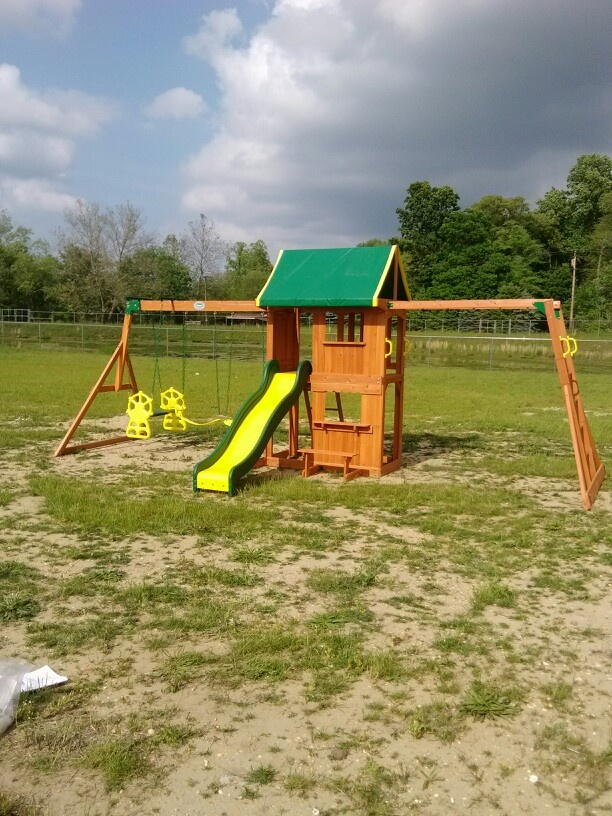 Backyard Discovery Prairie Ridge Playset installed in Mullica Hill, NJ. |  SwingSet Installer | Pinterest | Mullica hill and Backyard - Backyard Discovery Prairie Ridge Playset Installed In Mullica Hill
