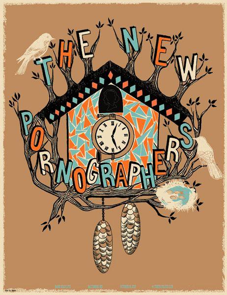 The New Pornographers | Gig Posters | Pinterest: http://pinterest.com/pin/334392341051876679/