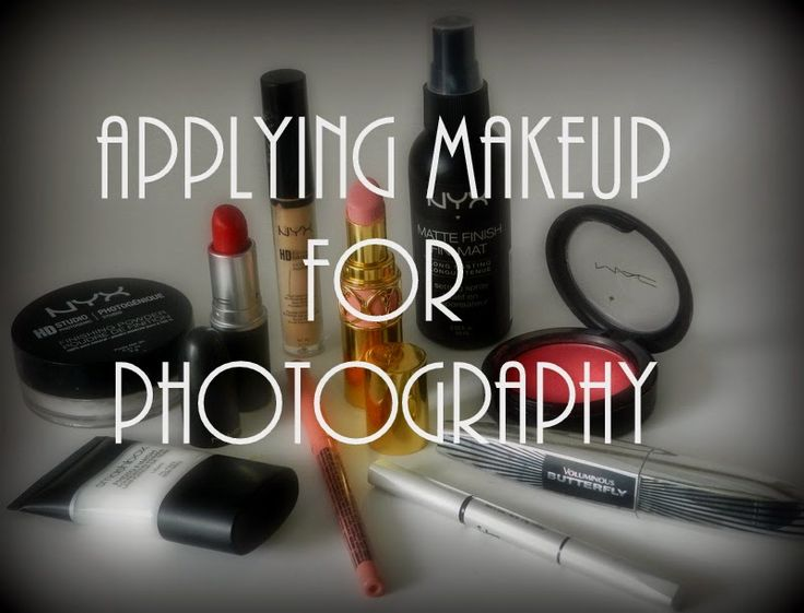 Helpful tips on Applying Makeup for Photography!