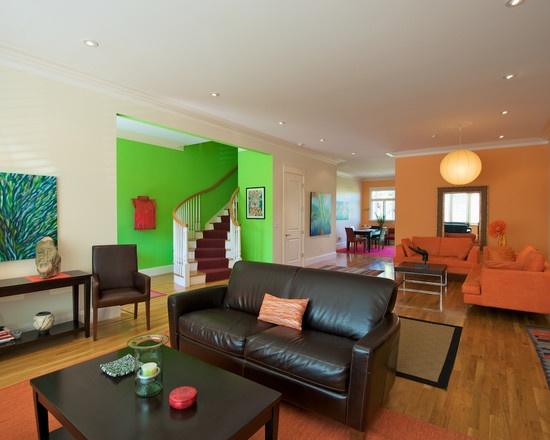 Die besten 25+ Orange sofa design Ideen auf Pinterest Orange - wohnzimmer orange braun